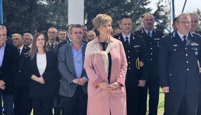 Τα εγκαίνια νέου Πυροσβεστικού Κλιμακίου στα Ανώγεια πραγματοποίησε η Όλγα Γεροβασίλη