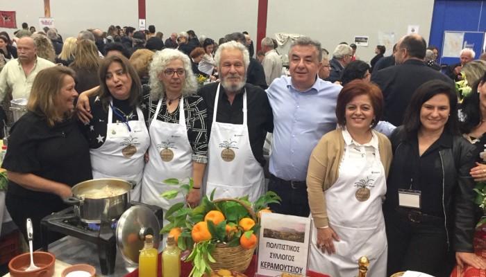 Χιλιάδες κόσμου στο φεστιβάλ Κρητικής κουζίνας