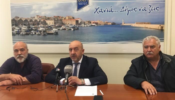 Απολογισμό των έργων στον δήμο Σφακίων έκανε ο Γιάννης Ζερβός
