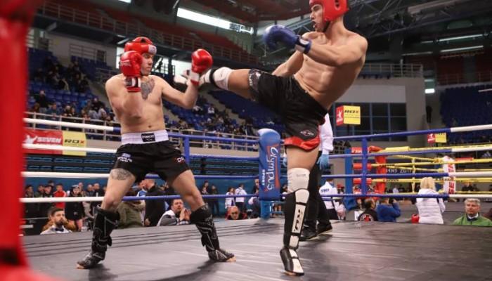 Μεγάλη επιτυχία στο πανελλήνιο κύπελλο Kick Boxing από τον Ρεθυμνιώτη Ρόκυ