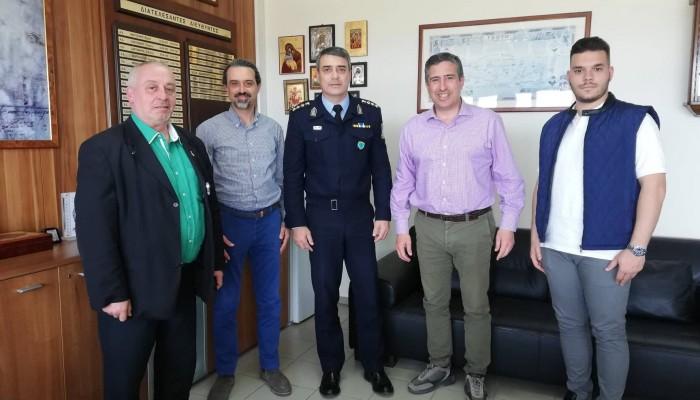Στο Αστυνομικό Μέγαρο Ηρακλείου ο Πέτρος Ινιωτάκης