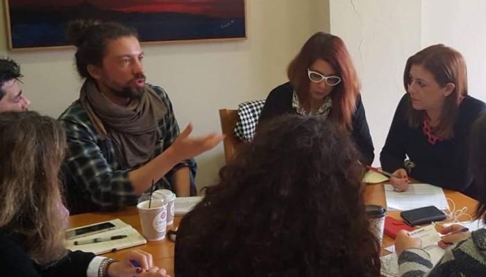 Συνάντηση Αντιδημάρχου Κοινωνικής Πολιτικής με Ύπατη Αρμοστεία