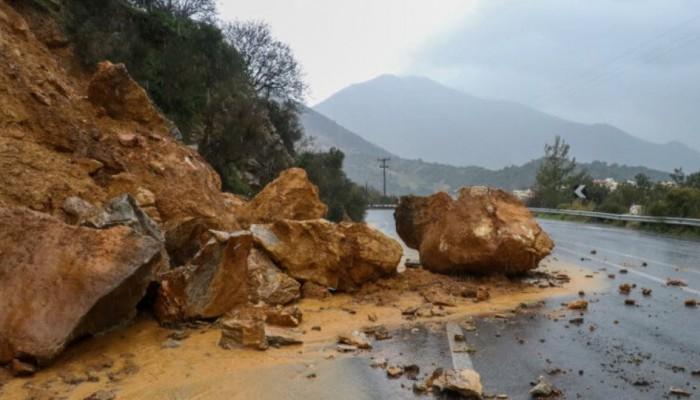 Χανιά: Προσοχή στις μετακινήσεις λόγω των ζημιών που δεν έχουν αποκατασταθεί