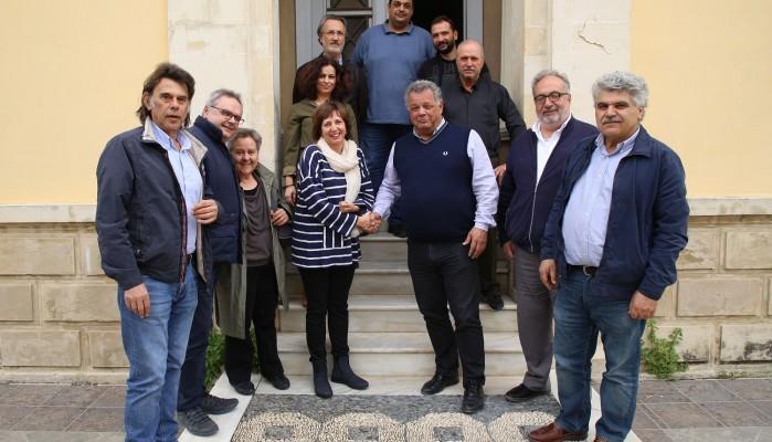 Συνάντηση του Ηλία Λυγερού με τη Δ.Ε. του ΤΕΕ ΤΔΚ
