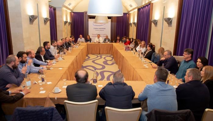 Γ.Κουράκης:Προοδευτικό είναι ότι μας ενώνει για να βγάλουμε το Ηράκλειο από τη στασιμότητα