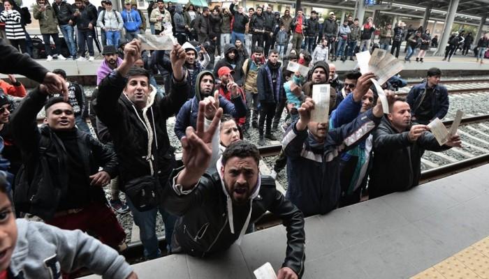 Σκηνές Ειδομένης και συγκρούσεις στα Διαβατά (φωτο)