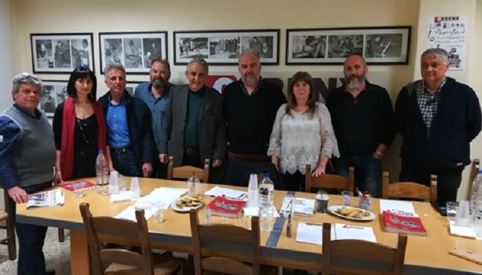 Επίσκεψη στην ΟΕΒΕΝΧ του Αντώνη Παπαδεράκη
