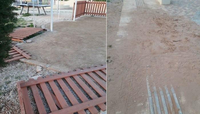 """Ανακοίνωση από το δήμο Χανίων για τους """"βανδαλισμούς"""" στο Πάρκο της Αμπεριάς"""