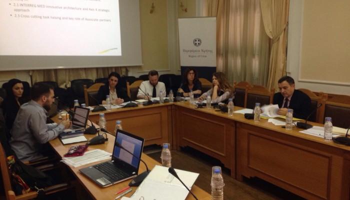 Συνάντηση στην Περιφέρεια για τον παράκτιο τουρισμό και την θαλάσσια επιτήρηση