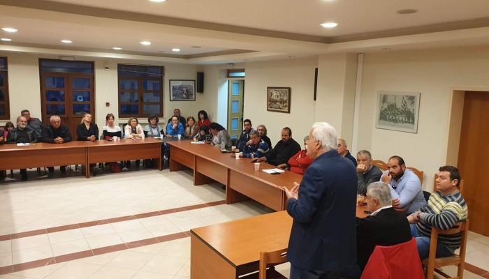 Η πρώτη τακτική συνάντηση των υποψηφίων δημοτικών συμβούλων της Ε.Μ.Α.Α.Κ