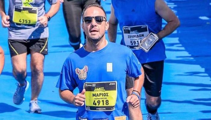 Αιμοκαθαιρόμενος αθλητής που συμμετείχε στο Run Greece Ηράκλειο στέλνει το δικό του μήνυμα