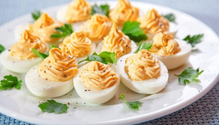 Γεμιστά αβγά