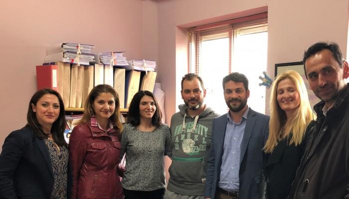 Στο Θεραπευτήριο Χρονίων Παθήσεων, το ΚΗΦΑΑΜΕΑ και τον Ορίζοντα ο Π. Σημανδηράκης