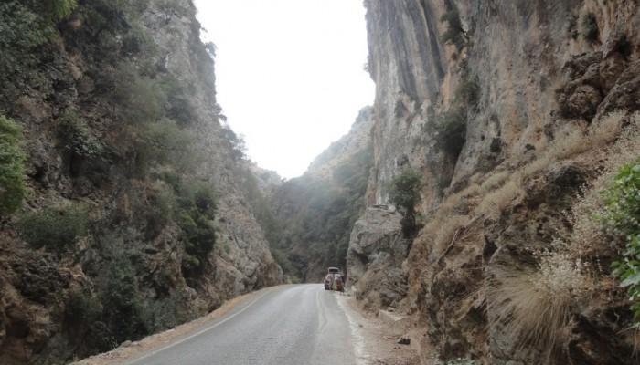 Προσοχή: Κλειστός ο δρόμος Θέρισσο - Δρακώνα