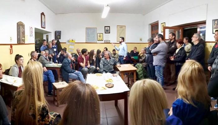 Επίσκεψη Παναγιώτη Σημανδηράκη στα Νεροκούρου