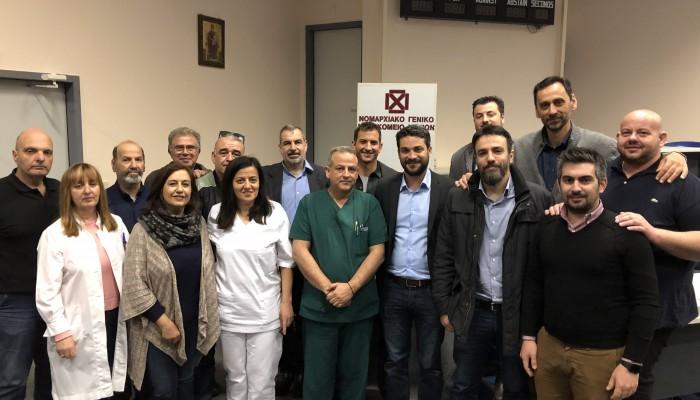 Σε Νοσοκομείο, ΤΟΜΥ και ΕΦΚΑ ο Παναγιώτης Σημανδηράκης
