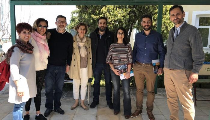 Επίσκεψη Παναγιώτη Σημανδηράκη στην ΕΛΕΠΑΠ (φωτο)