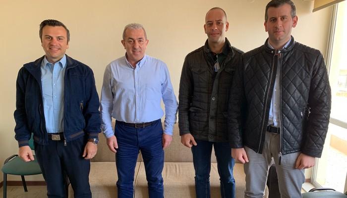 Συνάντηση του Σωκράτη Βαρδάκη με εκπροσώπους της Παγκρήτιας Ένωσης Αξιωματικών Αστυνομίας