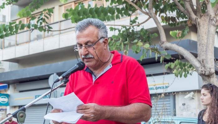 Περιοδείες της «Λαϊκής Συσπείρωσης», με επικεφαλής τον υποψήφιο Δήμαρχο Χανίων Ν. Βουρλάκη