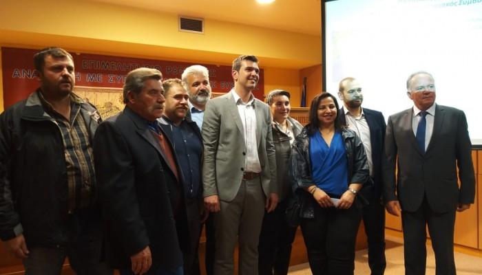 Ο Αλέξανδρος Μαρκογιαννάκης παρουσίασε τους υποψηφίους του συνδυασμού στο Ρέθυμνο