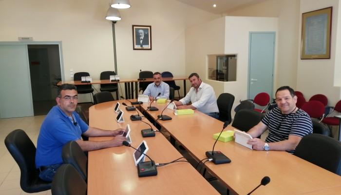 Ψηφιοποιείται η συνεδρίαση του Δημοτικού Συμβουλίου Οροπεδίου