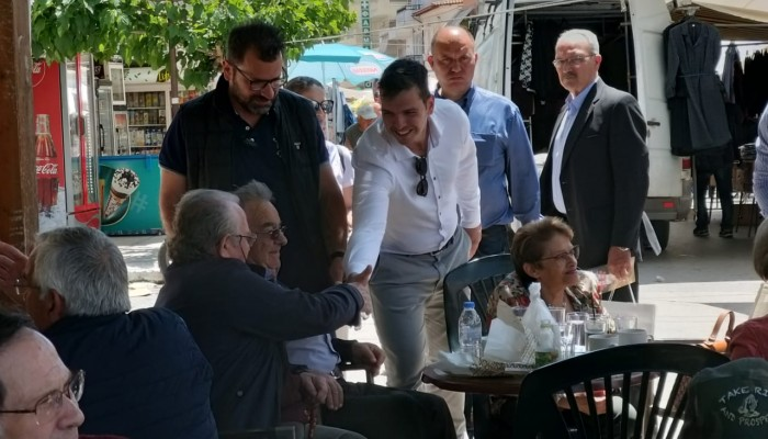 Ο Αλέξανδρος Μαρκογιαννάκης συνεχίζει την περιοδεία του στο Ηράκλειο