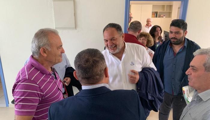 Στο Ελληνικό Μεσογειακό Πανεπιστήμιο ο Γιάννης Κουράκης