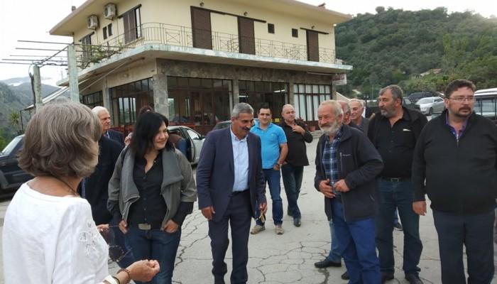 Σε χωριά του δήμου Πλατανιά ο Μανώλης Ντουντουλάκης (φωτο)