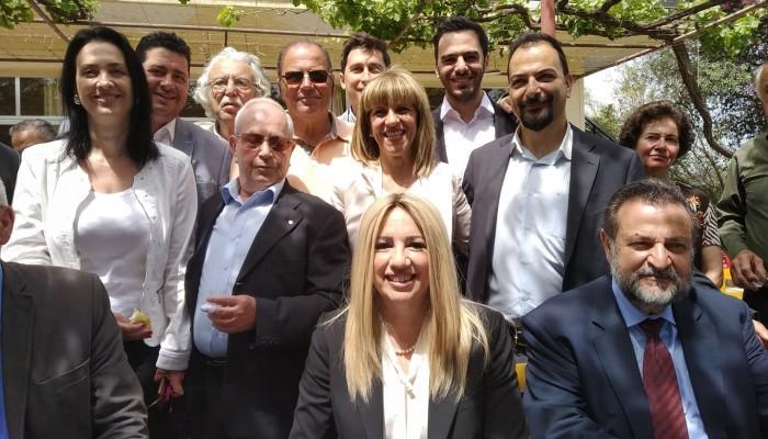 Η Φώφη Γεννηματά κατέθεσε στεφάνι στο μνημείο μάχης της Κρήτης (φωτο+βιντεο)