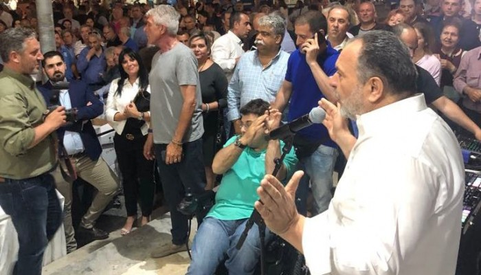 «ΗΡΑΚΛΕΙΟ 3.7.5»: Ενθουσιασμός και πίστη για νίκη στις εκλογές της Κυριακής