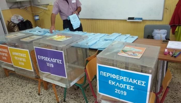Αποτελέσματα περιφερειακών εκλογών στην Π.Ε Λασιθίου (ενσωμάτωση 1,68%)