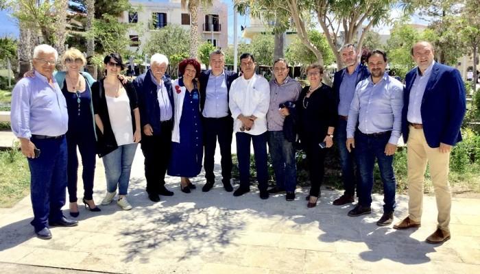 Περιοδείες υποψηφίων περιφερειακών συμβούλων Ρεθύμνου