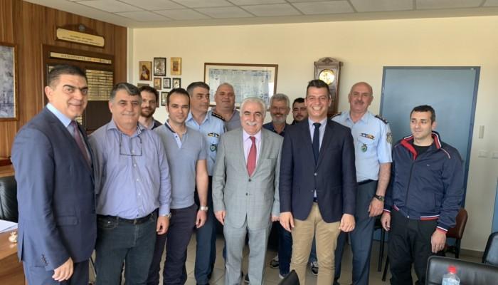 Συνάντηση με τον αρχηγό της ΕΛΑΣ είχαν οι Ενώσεις Αστυνομικών Ηρακλείου και Λασιθίου
