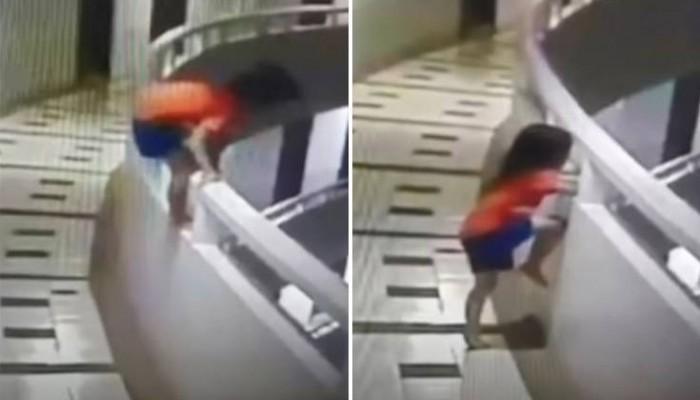 Πεντάχρονη που υπνοβατούσε έκανε βουτιά από τον 11ο όροφο (βίντεο)