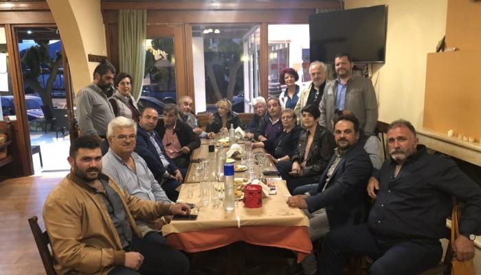Στο Αμάρι υποψήφιοι περιφερειακοί σύμβουλοι Ρεθύμνου του συνδυασμού «Κρήτη η Ζωή μας»