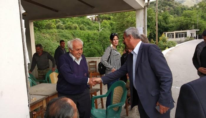 Επισκέψεις του Μανώλη Ντουντουλάκη σε χωριά δημοτικών ενοτήτων του Δήμου Πλατανιά