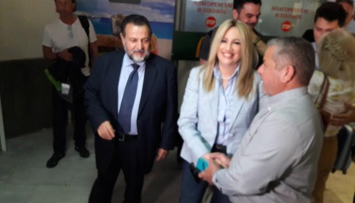 Φώφη Γεννηματά: Η Κρήτη θα είναι πάλι μπροστά για την προοδευτική αλλαγή