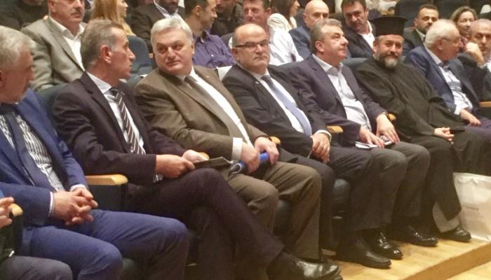 Στην εκδήλωση των 100 χρόνων ΓΣΕΒΕΕ ο Σταύρος Αρναουτάκης