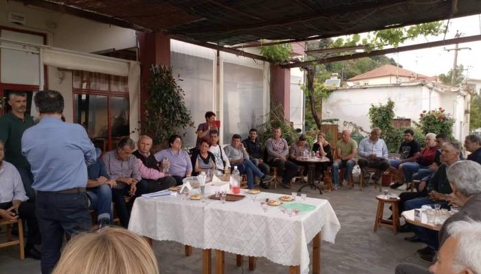 Περιοδεία Ιωάννη Μαλανδράκη σε χωριά του δήμου Πλατανιά (φωτο)