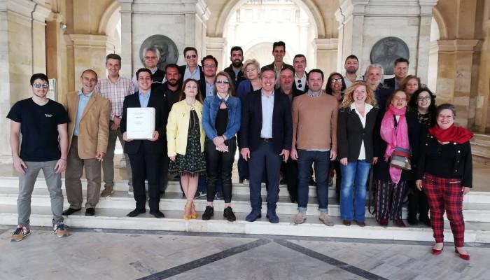 Ο Πέτρος Ινιωτάκης κατέθεσε τους υποψήφιους του συνδυασμού για τον Δήμο Ηρακλείου