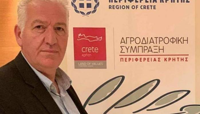 Απολογισμός έργου αγροδιατροφικής σύμπραξης περιφέρειας Κρήτης από τον Τ. Κουρουπάκη