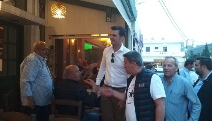 Ο Αλέξανδρος Μαρκογιαννάκης συνεχίζει ασταμάτητα τις περιοδείες του