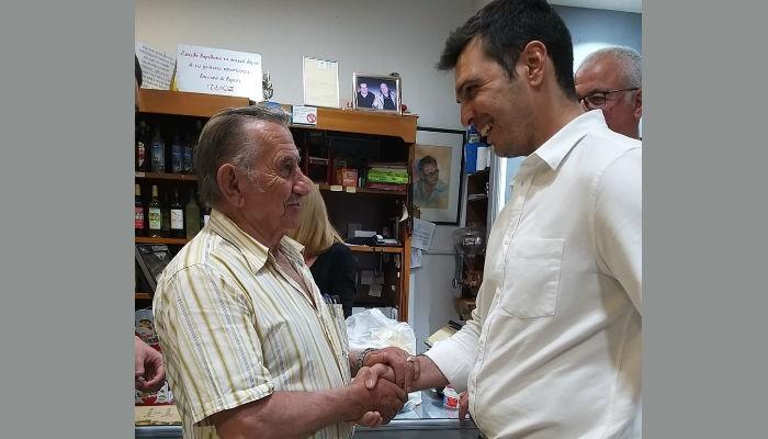 Ο Αλέξανδρος Μαρκογιαννάκης στο Δήμο Αποκορώνου