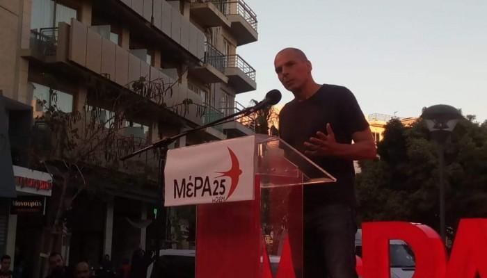 Γιάνης Βαρουφάκης: Η ΕΕ καταρρέει και γεννάει πολιτικά τέρατα παντού