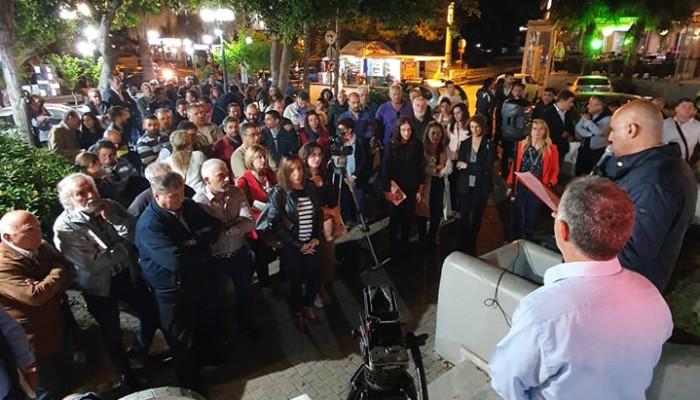 """Δήμος Ενεργών Πολιτών: Η Σούδα """"αγκάλιασε"""" τον Δήμαρχο Χανίων Τάσο Βάμβουκα!"""
