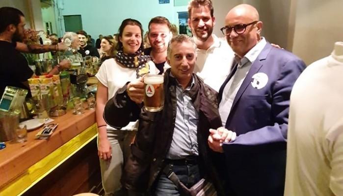 Γεμάτος αισιοδοξία με τους υποψηφίους του ο Δήμαρχος Χανίων Τάσος Βάμβουκας (φωτο)