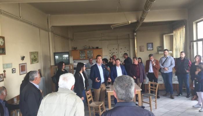 Ο Αλέξανδρος Μαρκογιαννάκης πραγματοποιεί περιοδεία στο Ρέθυμνο