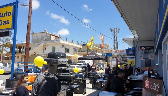 Πλήθος Χανιωτών στη BBQ DAY που διοργάνωσε το κατάστημα ΑΦΟΙ ΖΟΥΜΠΟΥΛΑΚΗ στα Χανιά