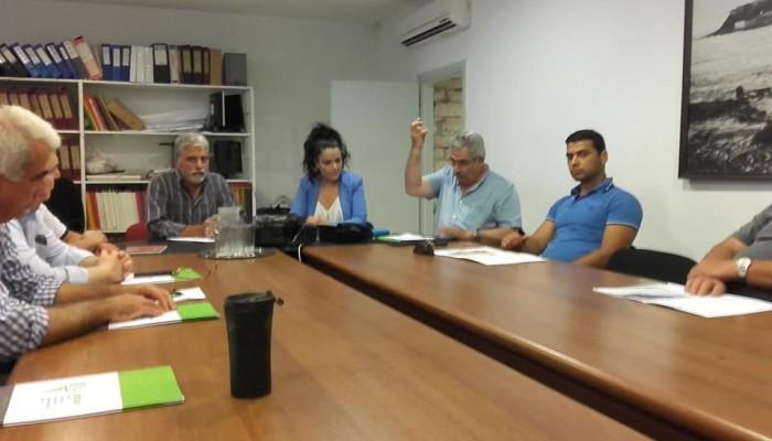 Σύσκεψη στο Ρέθυμνο για την προετοιμασία της εσπερίδας του ΕΣΔΑΚ