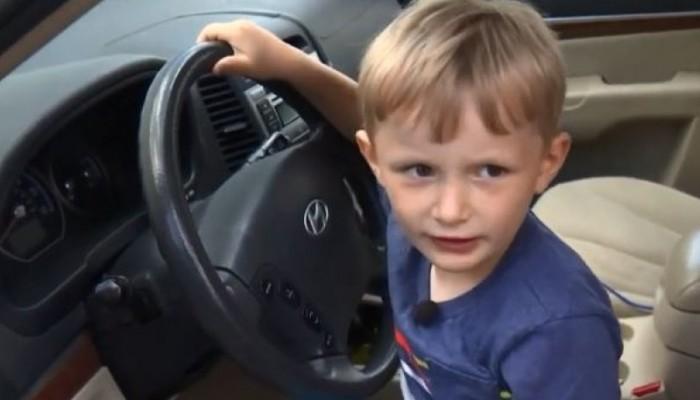 Τετράχρονος πήρε κρυφά το αυτοκίνητο του παππού του και πήγε να πάρει σοκολάτες